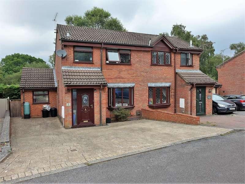 4 Bedrooms Semi Detached House for sale in Brecon Close, Dibden Purlieu