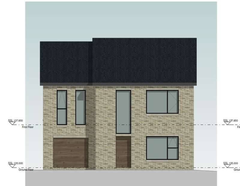 4 Bedrooms Detached House for sale in Plot 2, Creswick Lane, Grenoside, Sheffield, S35 8NL