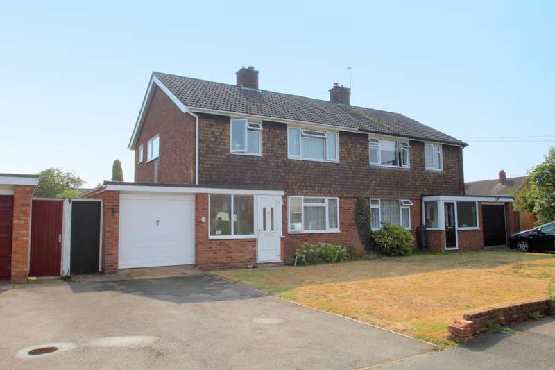 3 Bedrooms Semi Detached House for sale in Harvey Crescent, Stanway, West Colchester