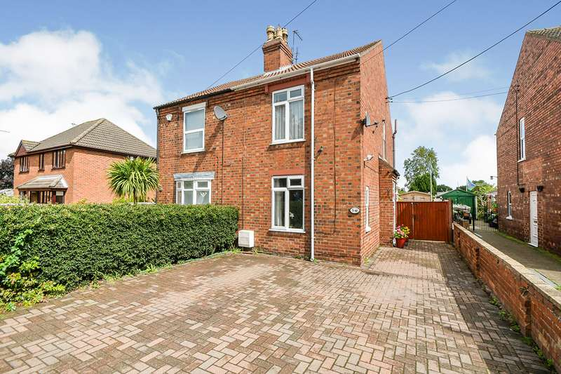 3 Bedrooms Semi Detached House for sale in Moor Lane, North Hykeham, Lincoln, Lincolnshire, LN6