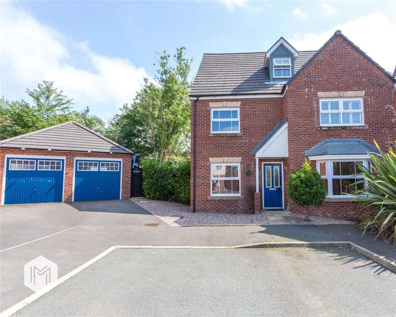 4 Bedrooms Detached House for sale in Silver Birch Close, Lostock, Bolton, Greater Manchester, BL6