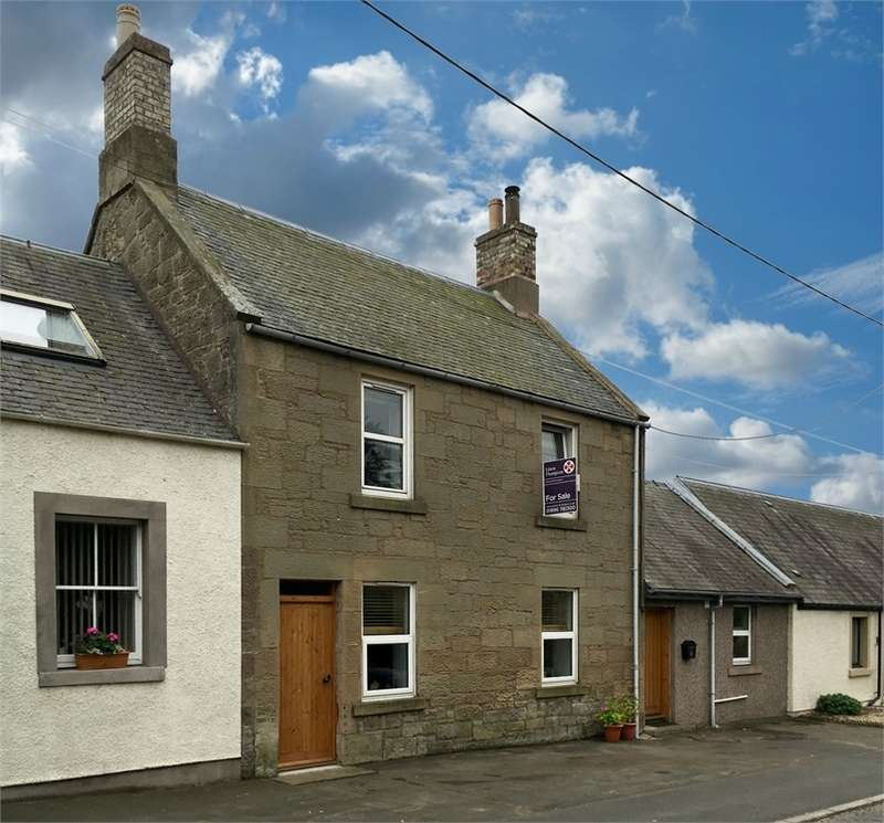 3 Bedrooms Terraced House for sale in 4 Main Street, Swinton, DUNS, Scottish Borders