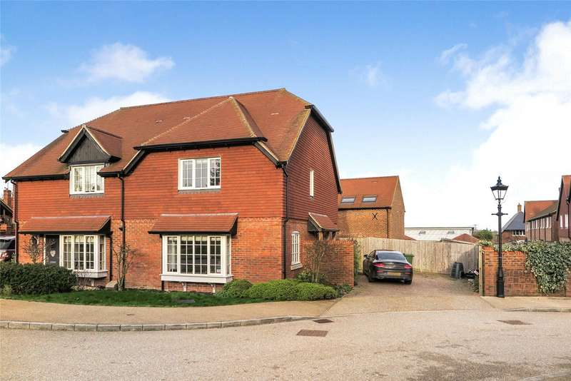 3 Bedrooms Semi Detached House for sale in Miller Lane, Upper Froyle, Alton, Hampshire, GU34