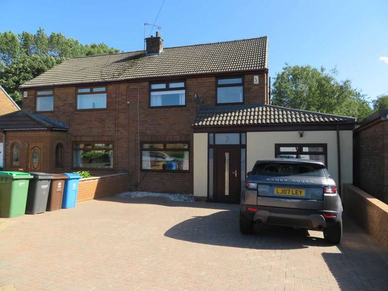 4 Bedrooms Semi Detached House for sale in Rishworth Rise, High Crompton