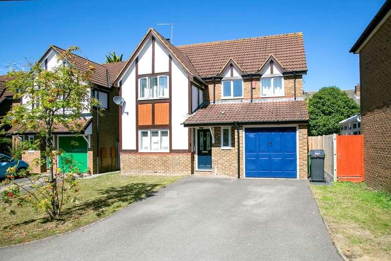 4 Bedrooms Detached House for sale in Foxs Furlong, Chineham, Basingstoke, RG24