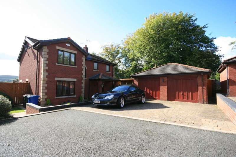 4 Bedrooms Detached House for sale in Parkwood Court, Rossendale, BB4