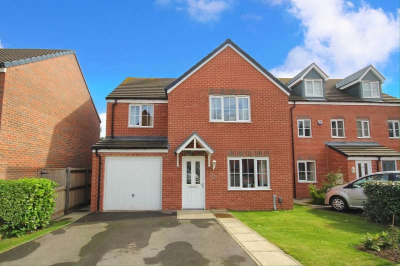 4 Bedrooms Detached House for sale in Hunters Place, Guisborough, TS14