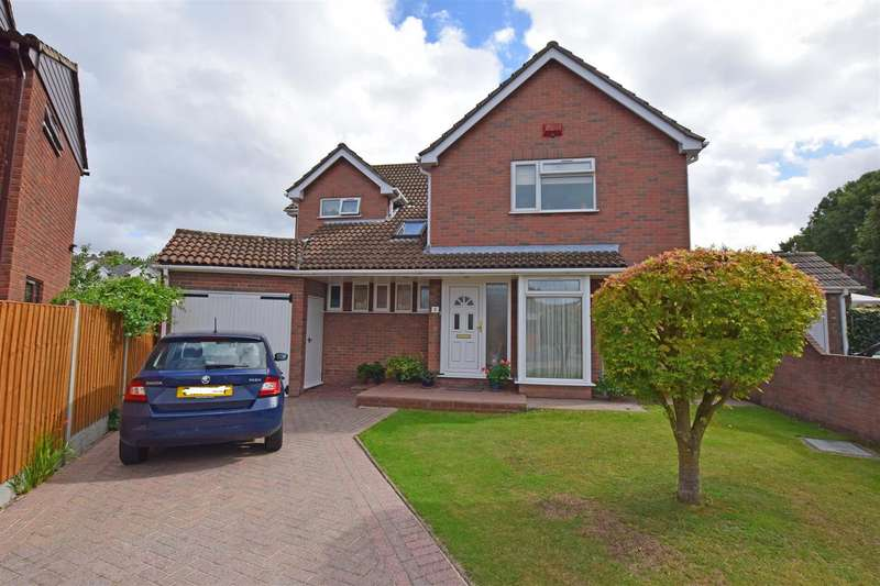 5 Bedrooms Detached House for sale in Foulds Close, Gillingham