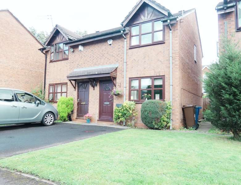 2 Bedrooms Semi Detached House for sale in Plattbrook Close, Manchester, Greater Manchester, M14