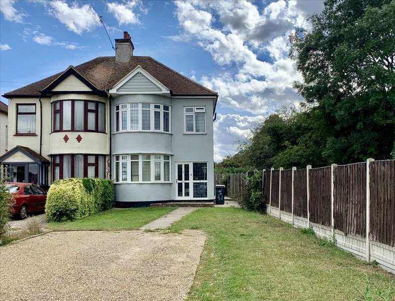 3 Bedrooms Semi Detached House for sale in Eastwood/Westcliff Borders
