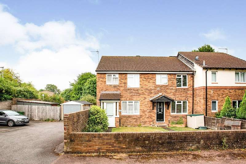 3 Bedrooms End Of Terrace House for sale in Beecham Berry, Basingstoke, Hampshire, RG22