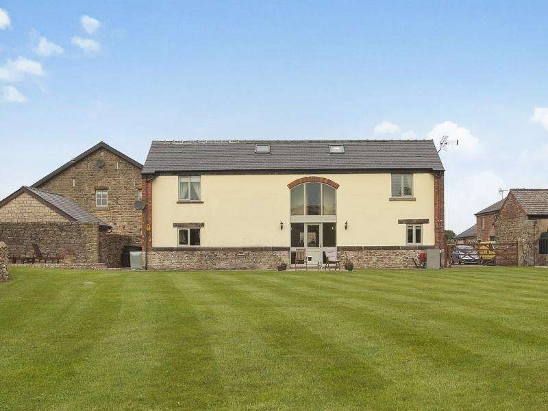 4 Bedrooms Detached House for sale in Roe Barns, Catterall Lane, Catterall, Preston, PR3