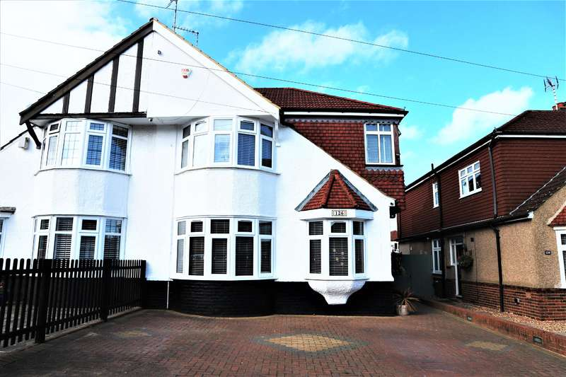 4 Bedrooms Semi Detached House for sale in Falconwood Avenue, Welling, Kent, DA16 2SW