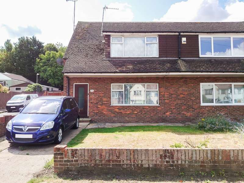 2 Bedrooms Semi Detached House for sale in Old Road East, Gravesend, Kent