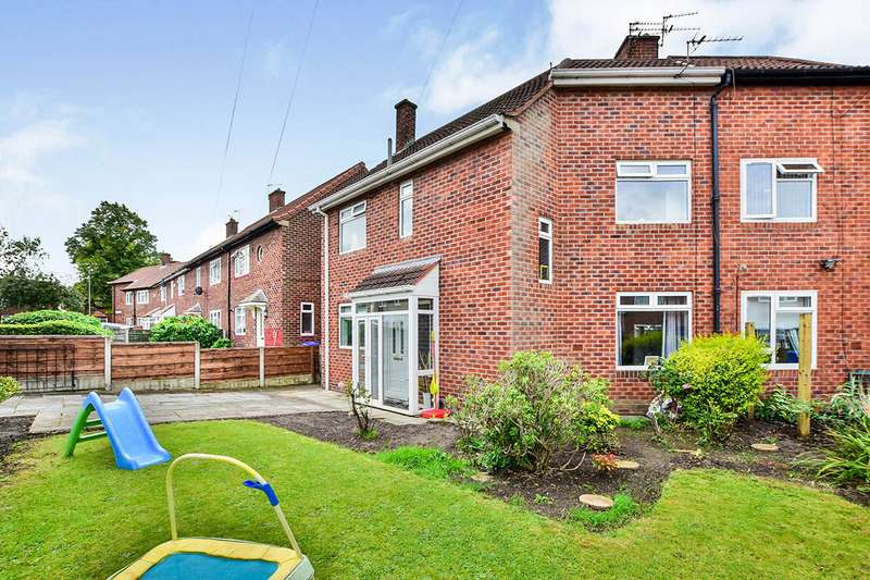 3 Bedrooms End Of Terrace House for sale in Glebelands Road, Manchester, Greater Manchester, M23
