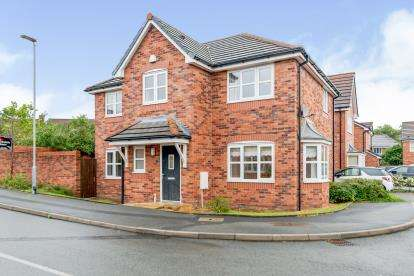 4 Bedrooms Detached House for sale in Green Mill Close, Westhoughton, Bolton, Greater Manchester, BL5