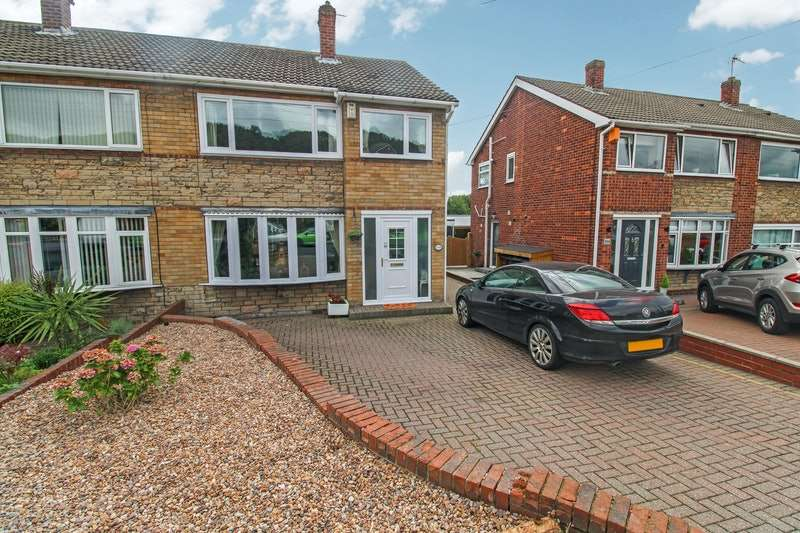 3 Bedrooms Semi Detached House for sale in St. Pauls Parade, Barnsley, South Yorkshire, S71