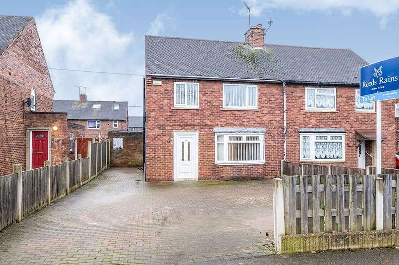 3 Bedrooms Semi Detached House for rent in Breck Lane, Dinnington, Sheffield, S25