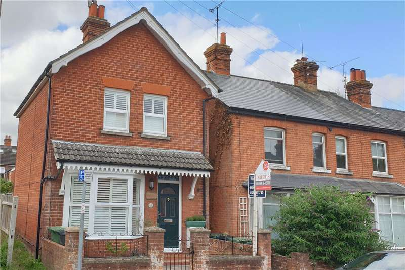 3 Bedrooms Detached House for sale in Queens Road, Basingstoke, RG21