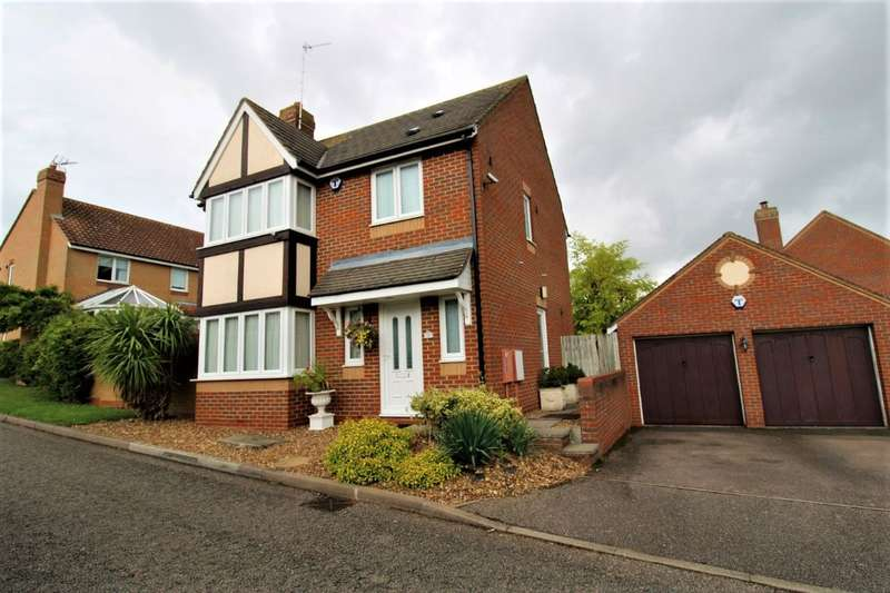3 Bedrooms Detached House for sale in FERNE FURLONG,OLNEY