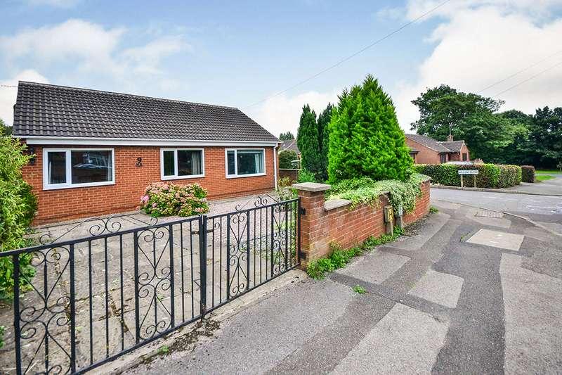 4 Bedrooms Detached Bungalow for sale in Storth Lane, Broadmeadows, South Normanton, Alfreton, DE55