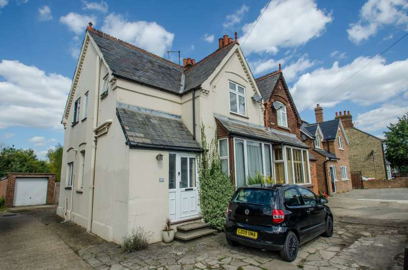 3 Bedrooms Semi Detached House for sale in Cambridge Road, Hitchin, Hertfordshire, SG4