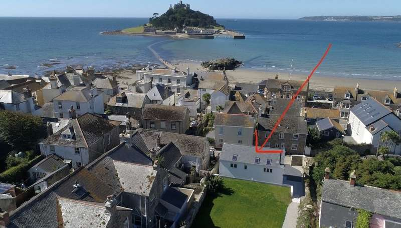 4 Bedrooms Detached House for sale in Marazion