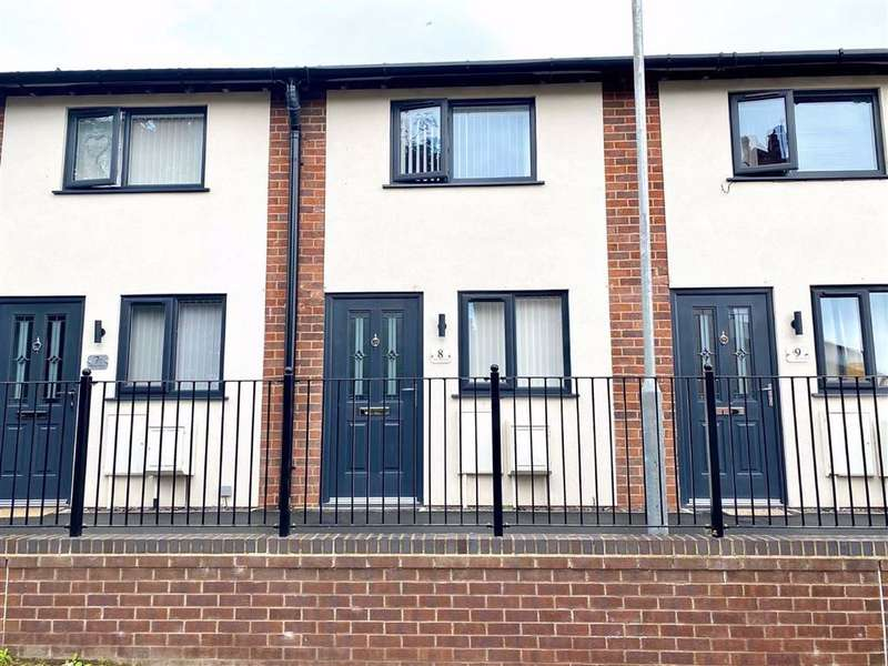 3 Bedrooms Town House for sale in Territorial Mews, Connahs Quay, Flintshire