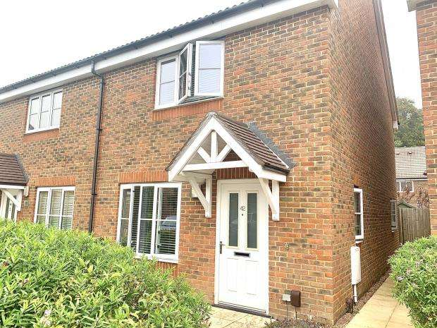 2 Bedrooms Semi Detached House for sale in Jellicoe Drive, Sarisbury Green, Southampton