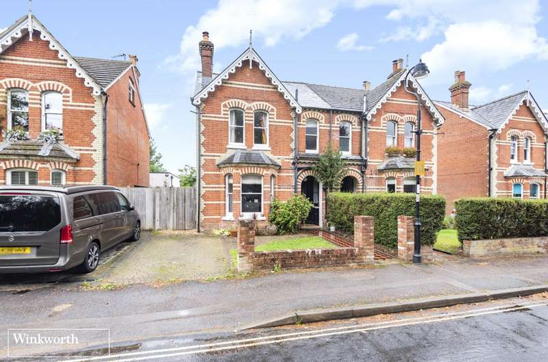 4 Bedrooms Semi Detached House for sale in Fairfields Road, Basingstoke, Hampshire, RG21