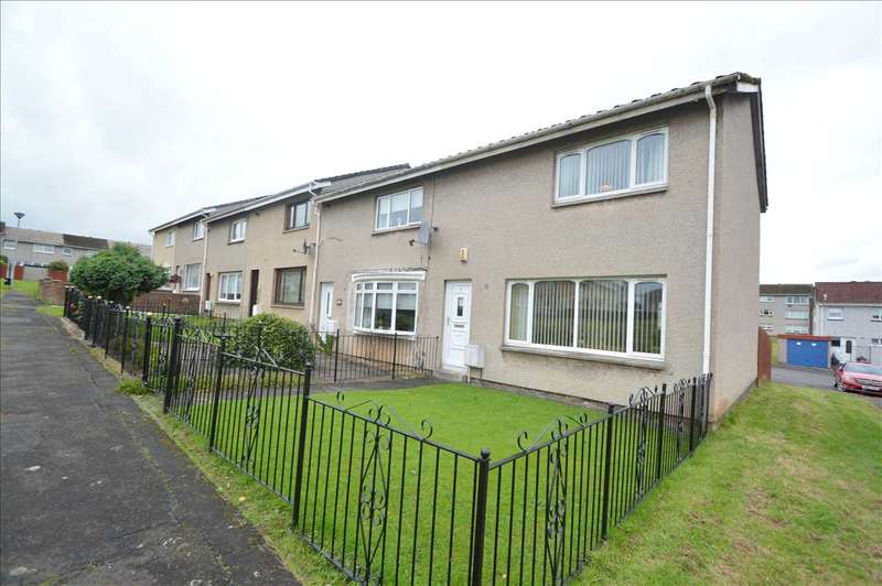 2 Bedrooms End Of Terrace House for sale in Ardgour Court, Blantyre