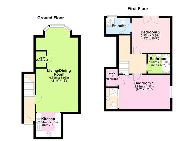 2 Bedrooms Apartment Flat for sale in Preston Place, Faversham