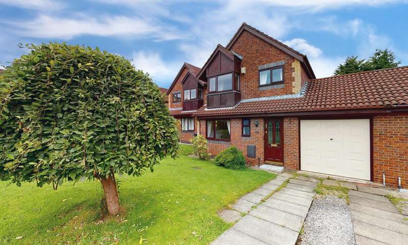 3 Bedrooms Detached House for sale in Waters Edge, Farnworth, Bolton, BL4 0NL