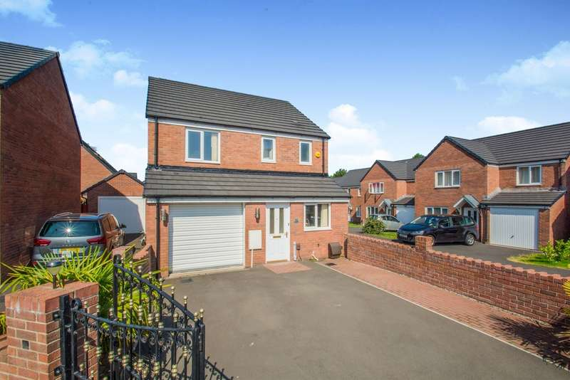 3 Bedrooms Detached House for sale in Cefn Adda Close, Newport