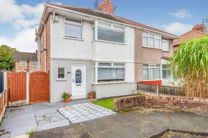 3 Bedrooms Semi Detached House for sale in Vogan Avenue, Liverpool, Merseyside, L23