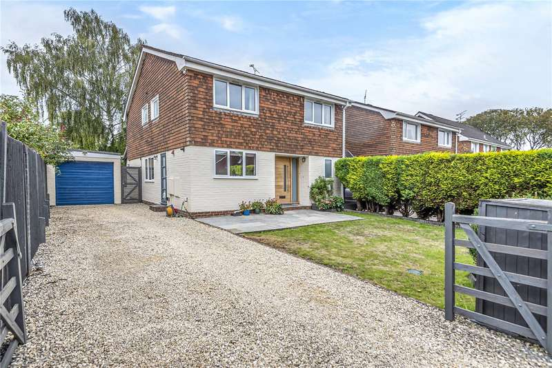 4 Bedrooms Detached House for sale in Hookpit Farm Lane, Kings Worthy, Winchester, Hampshire, SO23