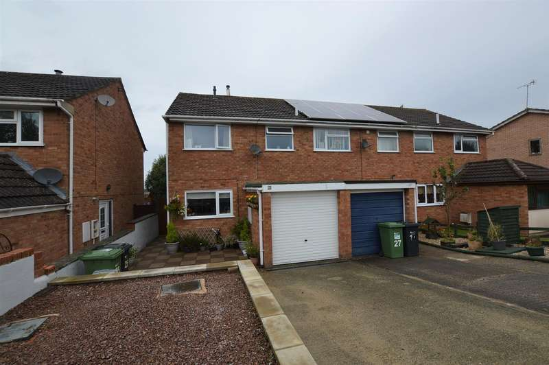 3 Bedrooms End Of Terrace House for sale in Blanchard Close, Leominster