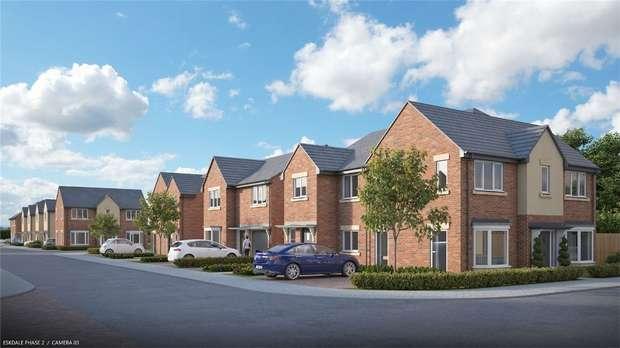 3 Bedrooms Semi Detached House for sale in Plot 92 The Yewdale, Langdale Grange, Centaurea Homes, Primrose, Jarrow