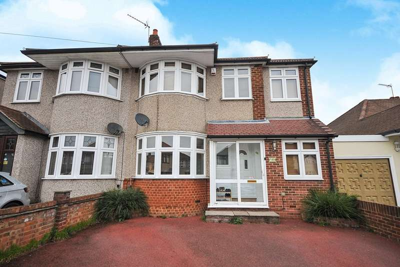 4 Bedrooms Semi Detached House for sale in Sutherland Avenue, Welling, DA16