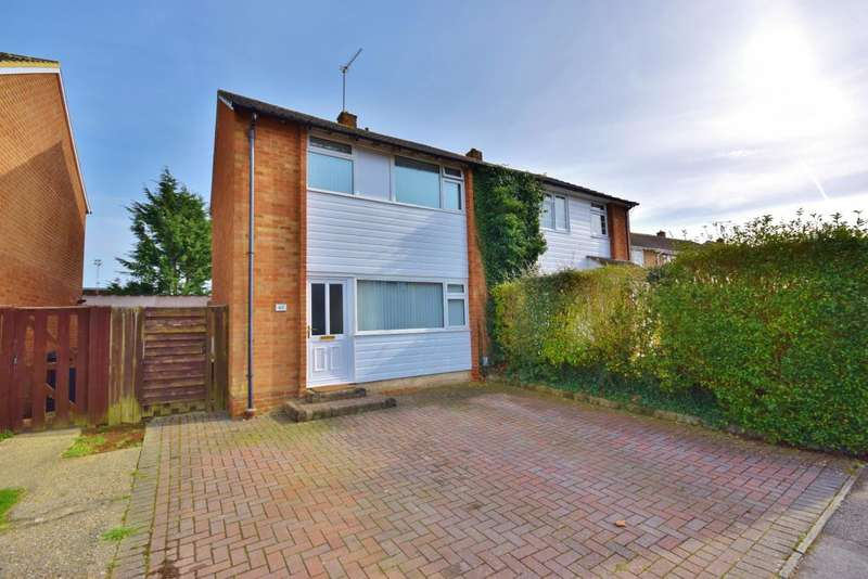 3 Bedrooms Semi Detached House for sale in South Ham, Basingstoke, RG22
