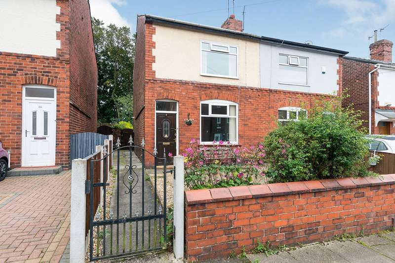 2 Bedrooms Semi Detached House for sale in Egerton Road, Worsley, M28