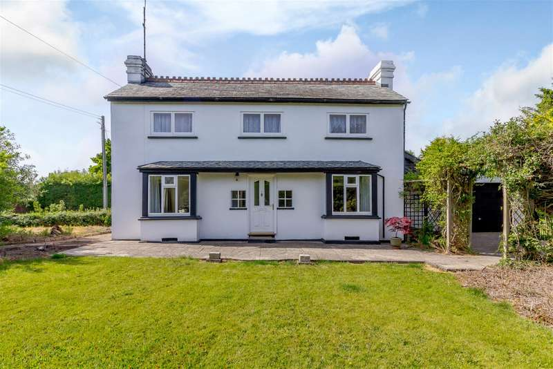 3 Bedrooms Detached House for sale in Brooklands, Kington Road, Weobley, Hereford, HR4 8QS