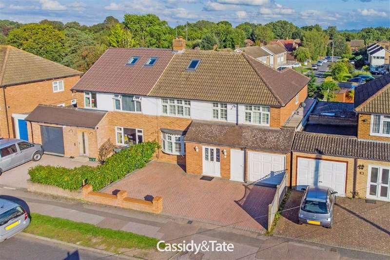 5 Bedrooms Property for sale in Spooners Drive, St. Albans, Hertfordshire - AL2 2HX