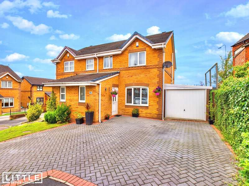 2 Bedrooms Semi Detached House for sale in Kilburn Avenue, Ashton-In-Makerfield, WN4