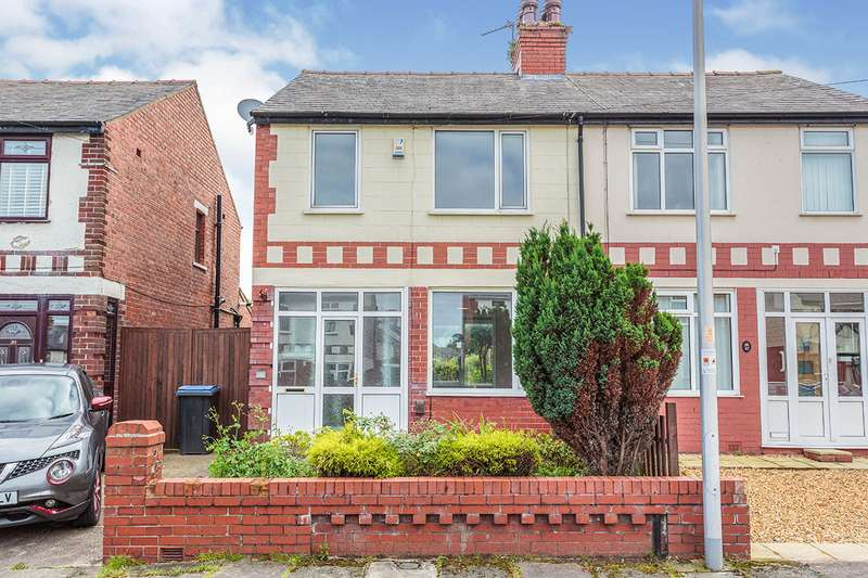 3 Bedrooms Semi Detached House for sale in Knaresboro Avenue, Blackpool, Lancashire, FY3