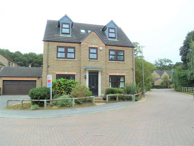 5 Bedrooms Detached House for sale in Mereside, Fenay Bridge, Huddersfield
