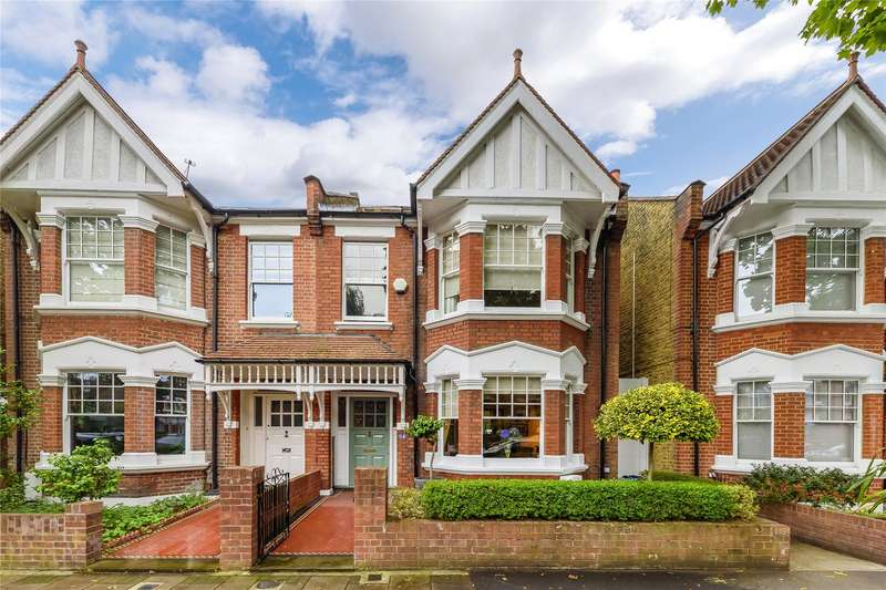 4 Bedrooms Semi Detached House for sale in Wavendon Avenue, London, W4