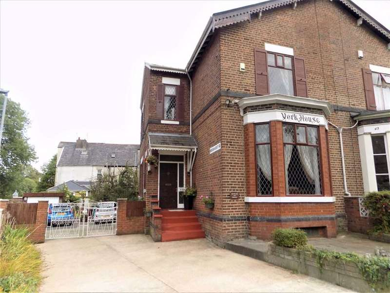 4 Bedrooms Semi Detached House for sale in Knutsford Road, Manchester