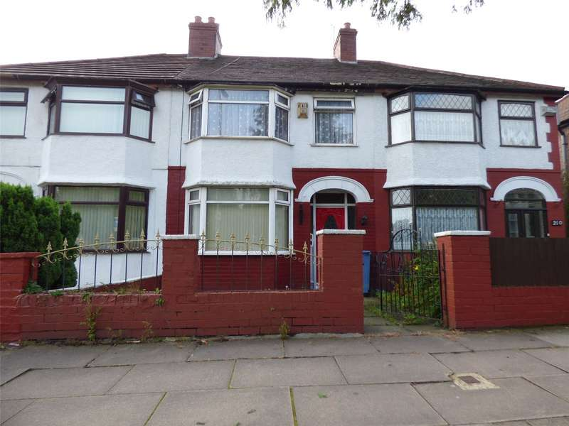 3 Bedrooms Terraced House for sale in Thomas Drive, Liverpool, Merseyside, L14