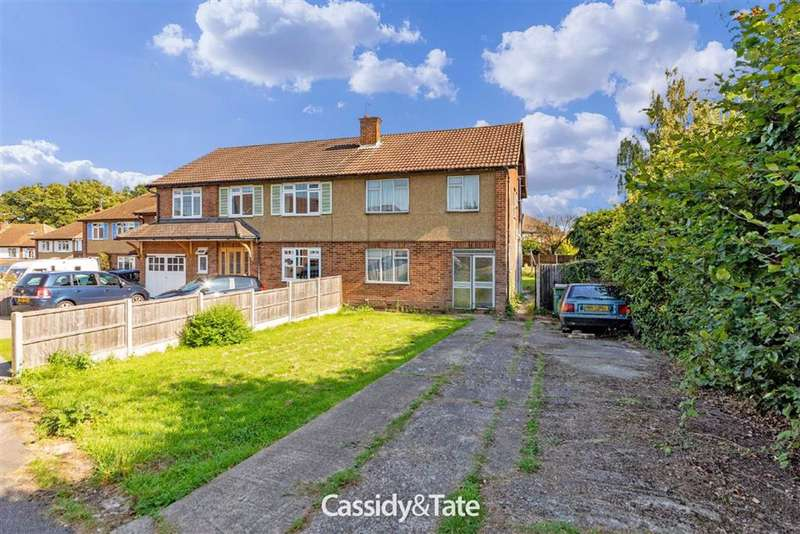 3 Bedrooms Property for sale in Meadow Close, St. Albans, Hertfordshire - AL4 9TG